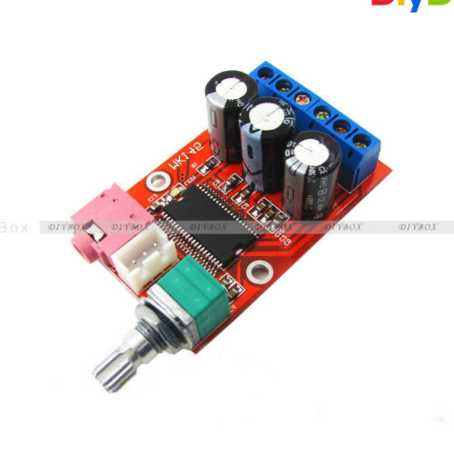 YDA138-E YAMAHA 12W+12W Dual Channel Digital Audio Amplifier Board DC 12V