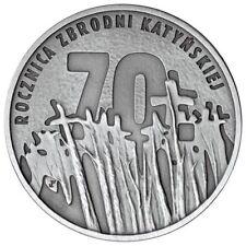 Poland / Polen - 10zl Anniversary of the Katyn Crime Polska - 70 lat zbrodni kat