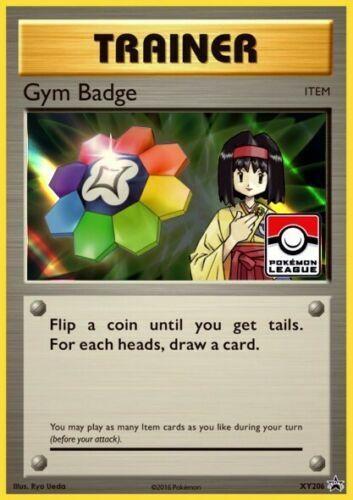 Pokemon Card Gym Badge Erika XY206 Holo 2017 League Promo NM
