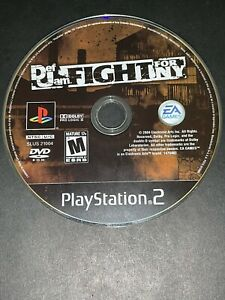 Def Jam Fight for NY (Sony PS2, 2004) Disc Only. Tested And Working.