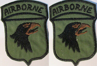 ORIGINAL VIETNAM TO NOW 101ST AIRBORNE INFANTRY CLOTH SCREAMING EAGLES PATCH