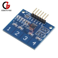 10x Ttp224 4 Channel Digital Touch Sensor Module Capacitive Touch Switch Button