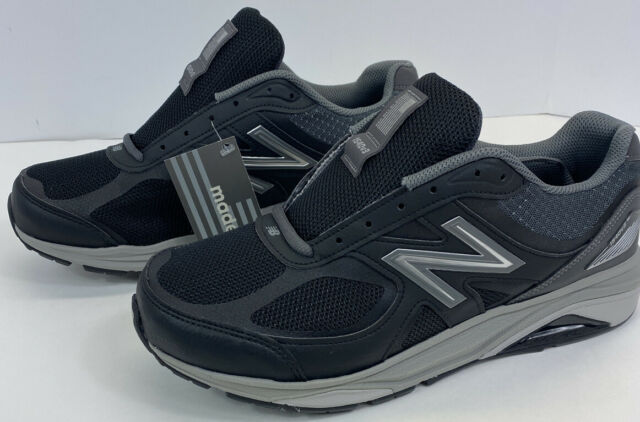 New Balance 1540 V3  Mens Size 8.5 6E Made In USA Running Shoe Black/Castlerock