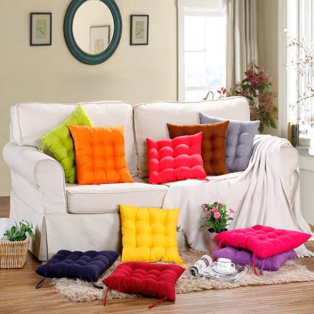 Siège Coussin Décoratif De Chaise Comfortable En Coton Décoration Office Maison