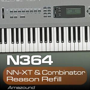 KORG-N364-REASON-REFILL-77-COMBINATOR-amp-NNXT-PATCHES-1119-SAMPLES-24BIT-MAC-PC