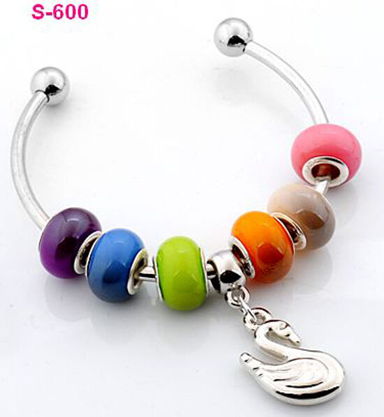 1pc new handmade charm cuff bracelet fit European beads s-600 hand work design