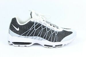 Nike Mens Air Max 95 Ultra JCRD Jacquard White Wolf Grey Dark 749771 ...