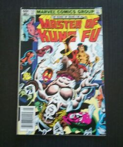 Master Of Kung Fu #122 - The Madhouse Effect Great Condition Marvel 1983