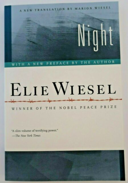 Night by Elie Wiesel, Winner of Nobel Peace Prize (2006,PB) NEW, Free Shipping