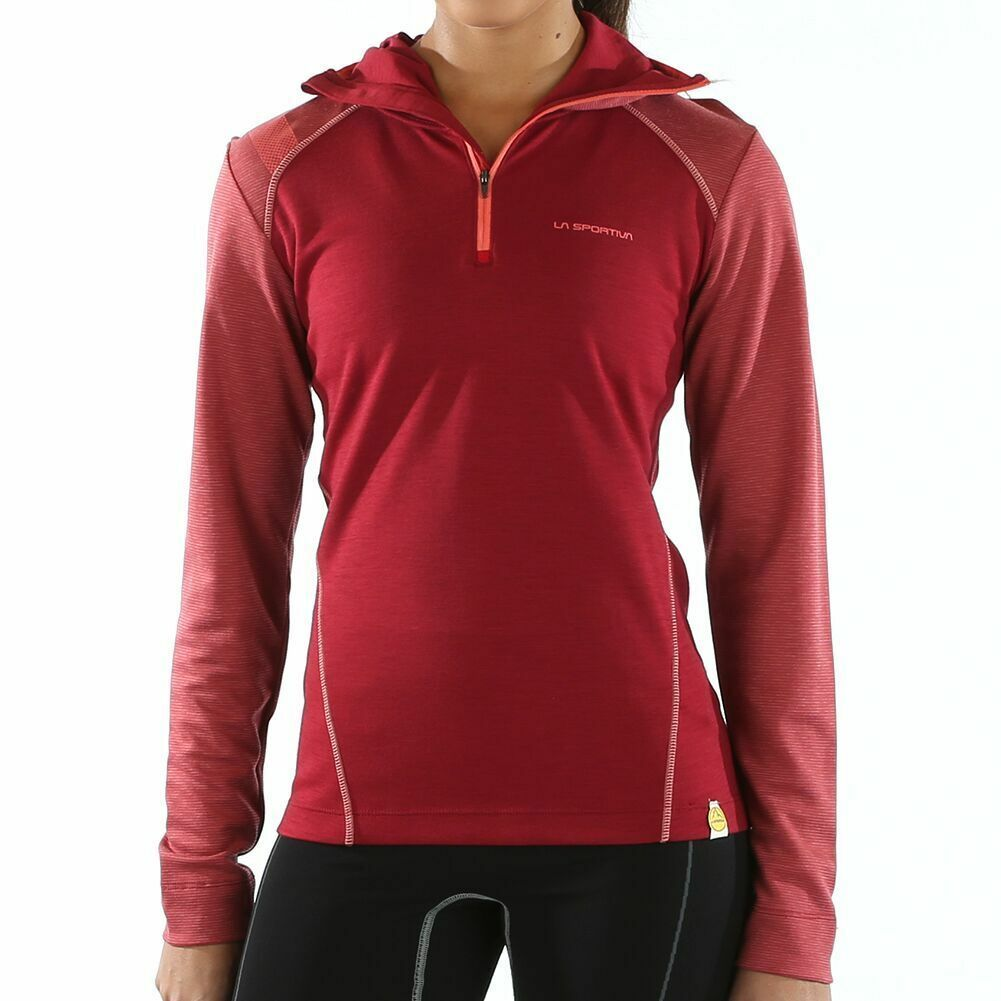 65% OFF RETAIL La Sportiva Women's  EXTRA LARGE Saturn Hoody active Wool Blend  order online