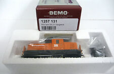 Bemo 1257 131 oder 1257131 E-Lok Gem 2/4 Betriebsnummer 211 orange Spur H0m NEU