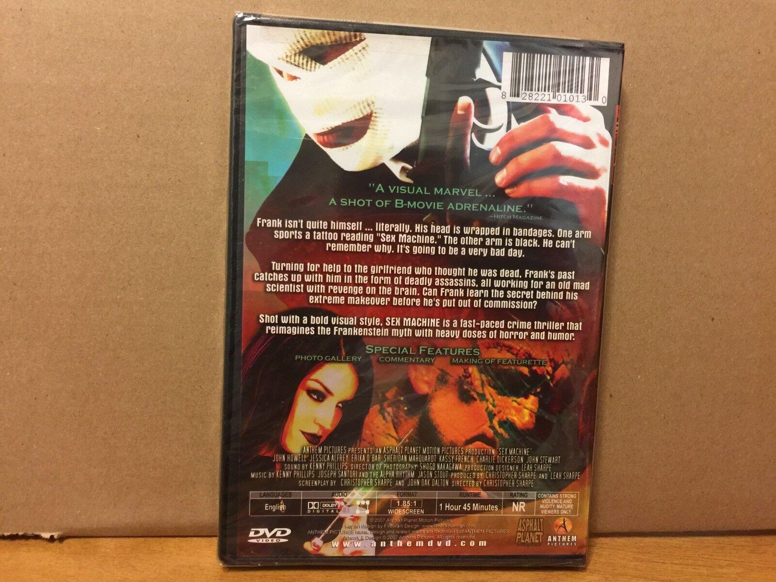 Sex Machine (DVD) Sarah Adams, Jessica Alfrey, Kenton Bishop, Beth Brown,  NEW! 828221010130 | eBay