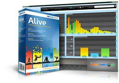 Alive Clinical Multi-User Biofeedback Training & Analyses System IOM Wild Divine