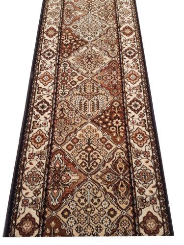 Läufer Teppichläufer Standard Bergenia Terrakotta breite 70,80,100 cm meterware
