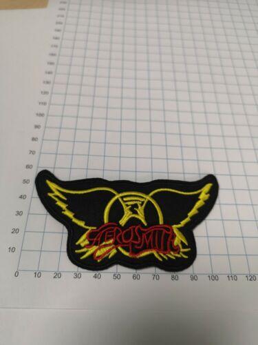 Aerosmith Logo Iron on//Sew on logo patch rock heavy metal UK Stock.