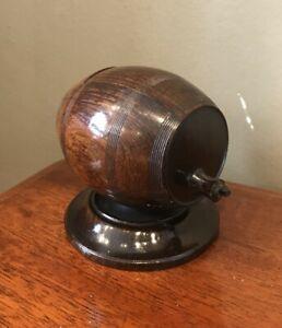 Antique Georgian Rosewood Barrel String Box