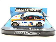 "Scalextric ""Gardox"" BMW 125 1 Series BTCC PCR DPR W/ Lights 1/32 Slot Car C3735"