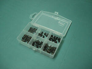 Barrel clip assortment auto body sheet metal emblem