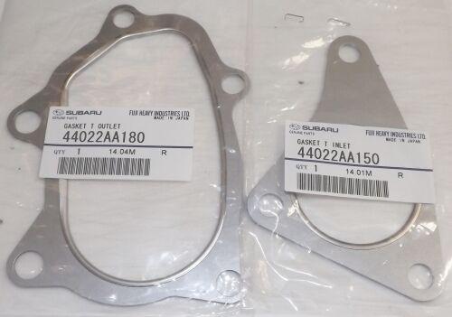 Subaru Forester Wrx Sti Turbo De Entrada /& Salida De Escape Juntas 1998-2014 Genuino