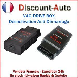 REPROGRAMMATION pour AUDI VW DÉSACTIVATION ANTI DÉMARRAGE DRIVE BOX