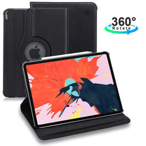 For-iPad-Pro-12-9-034-3rd-Gen-11-034-9-7-034-2018-360-Swivel-Rotating-Leather-Case-Cover