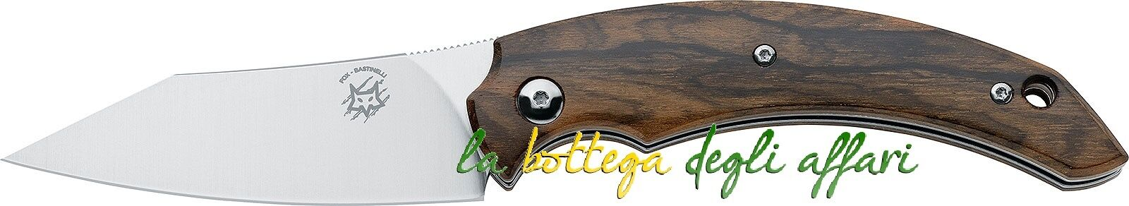 Coltello Coltello Coltello FOX Maniago FX518ZW Slim Dragotac Piemontes Bastinelli Design 926ef2
