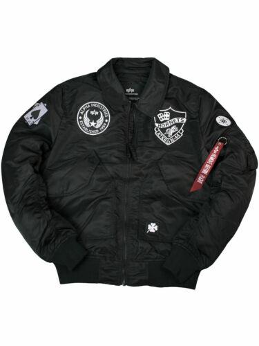 Alpha Industries Veste CWU vflw patch 186109 noir écusson pour homme 6155