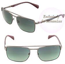 035a0ccbf62f9 item 1 PRADA Sunglasses SPR 50Q LAI-2D0 3N Square Polished Gunmetal Grey  Lenses -PRADA Sunglasses SPR 50Q LAI-2D0 3N Square Polished Gunmetal Grey  Lenses