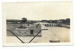 Hastings-County-FRANKFORD-ONTARIO-Trent-Valley-Canal-Lock-Circa-1922