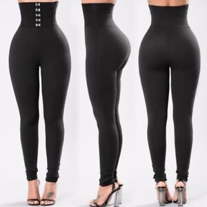 Fashion-Women-High-Waist-Yoga-Leggings-Running-Gym-Stretch-Sports-Pants-Trousers