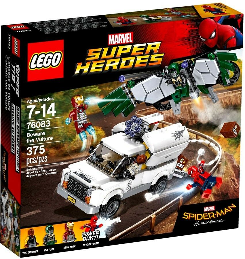 LEGO Marvel Super Heroes Spider-Man Homecoming Beware The Vulture Set