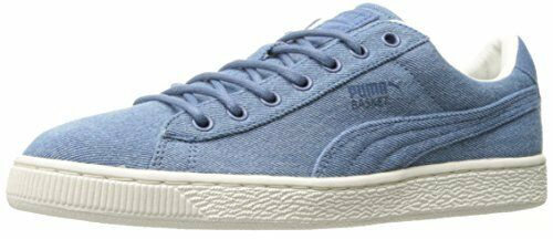 Scarpe casual da uomo PUMA Basket Classic Denim Fashion Sneaker- Pick SZ/Color.