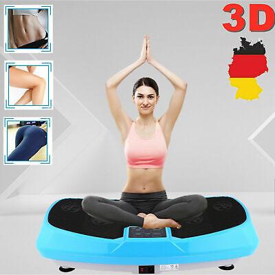 Profi 4D Fitness Vibrationsplatte Ganzkörper Training Vibrationsboard 2 E 04