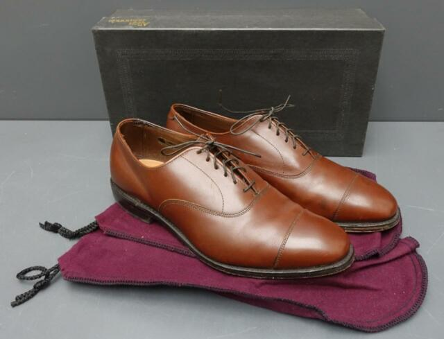 7be79bf5be Frequently bought together. Men Allen Edmonds Park Avenue Walnut Brown  Leather ...