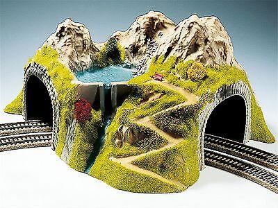 05130 GMK World of modello Ferroviario HOBBY NOCH HO Eck-tunnel 41 x 37 CM