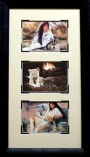 Maija Aspen Gold Framed Trilogy  14 x 24