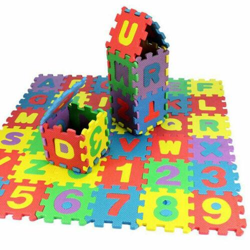 36PC Eva Doux Mousse Exercice Tapis de sol maison Puzzle Game Kids Play GX mini