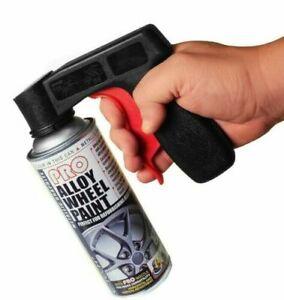Pistola-per-bomboletta-spray-aerosol-con-impugnatura-E-Tech-per-cerchi-in-lega