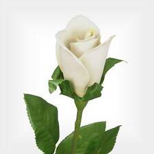 "29"" Capodimonte Porcelain White Rosebud  (Free Anniversary Gift Box)"
