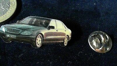 WohltäTig Mercedes Benz Daimler Chrysler Pin Badge Mb S Klasse Grün