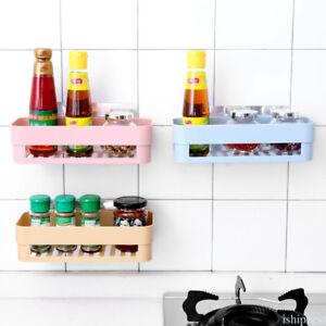 Image Is Loading Bathroom Kitchen Corner Wall Storage Rack Organizer Shower