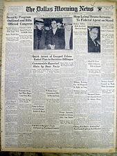 1935 newspaper BEGINNING o SOCIAL SECURITY PROGRAM Franklin D Roosevelt NEW DEAL