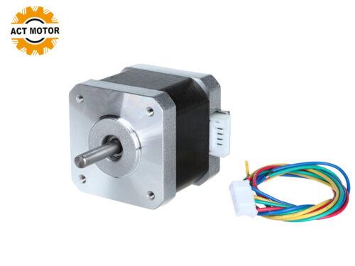 1PC Nema17 stepper motor 1.8° Schrittmotor 1.7A 40mm 0.4Nm D-Shaft ACT Motor