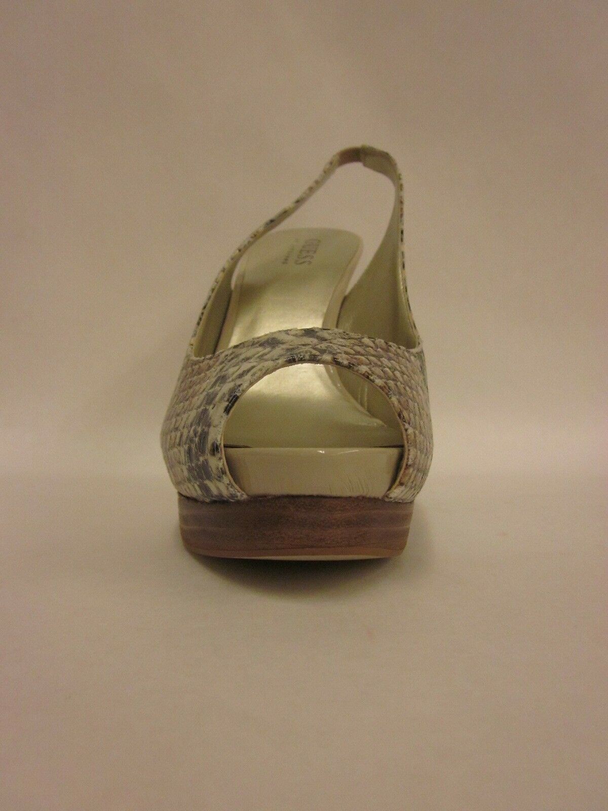 Guess Guess Guess Chandrika 3 Natural Multi-Synthetic Heel - Size 9 0b98c4