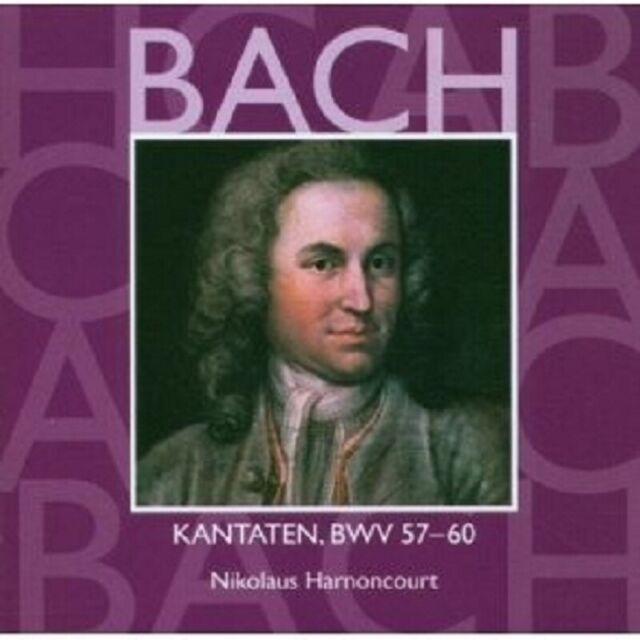 HARNONCOURT/LEONHARDT - KANTATEN VOL.18-BWV 57-60 CD NEU