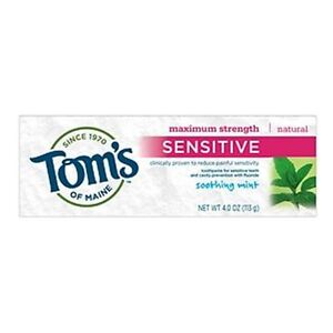 Tom S Of Maine Natural Sensitive Toothpaste Wintermint