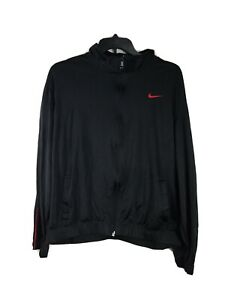 Nike Men/'s Practice OT Black Basketball Zip-Up Training Jacket 411218-011 Size L