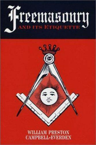 Freemasonry and Its Etiquette-ExLibrary