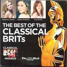 BEST OF THE CLASSICAL BRITS - PROMO CD (2009) BRYN TERFEL / HAYLEY WESTENRA ETC