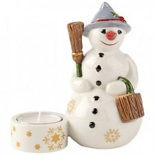 Villeroy & Boch NOSTALGIC LIGHT Snowman Votive #3985